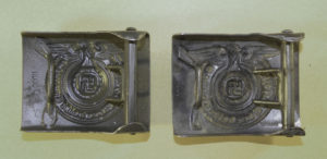 Details of original RODO Waffen-SS EM buckle