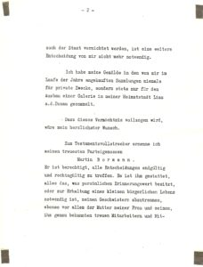 Hitler Privates Testament P.2
