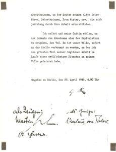 Hitler Privates Testament P.3