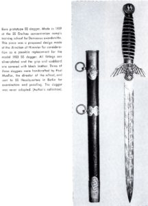 "An Atwood total fantasy ""SS prototype dagger;"