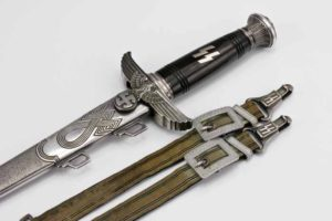 """Another """"SS Honor/Prototype dagger"""" with reworked Luftwaffe officer's dagger hanger."""